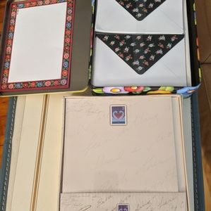 Stationery Lot Letters and Envelopes
